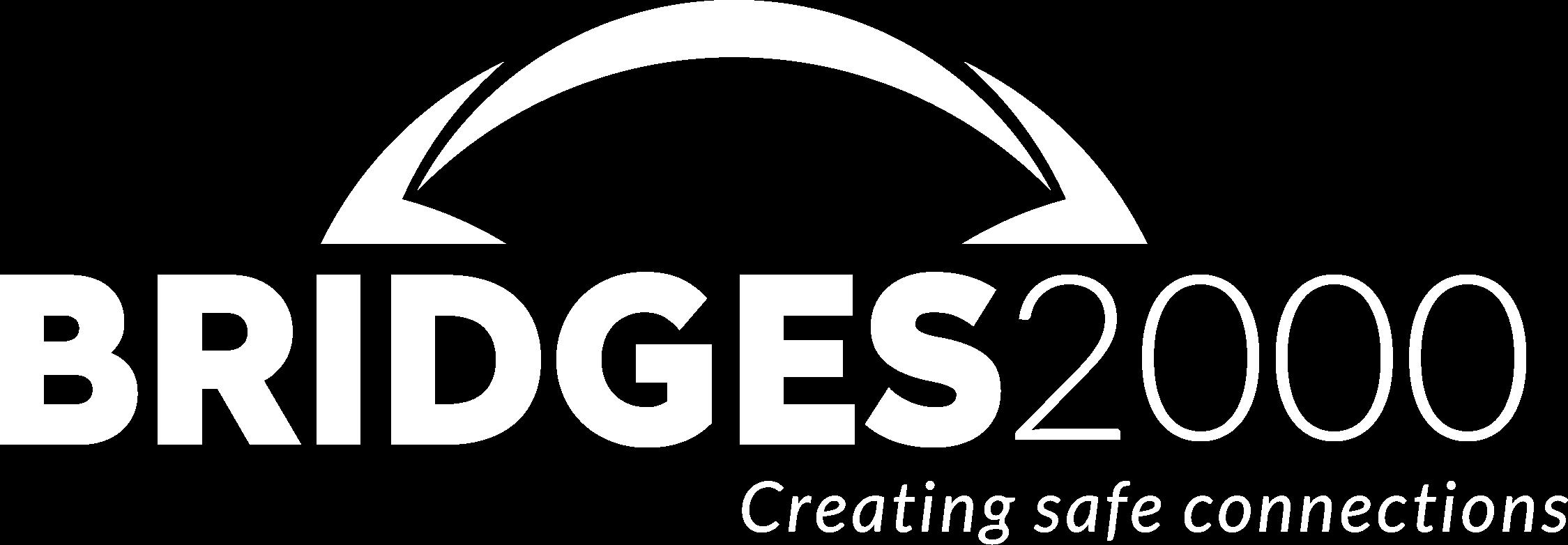 BRIDGES2000 logo white