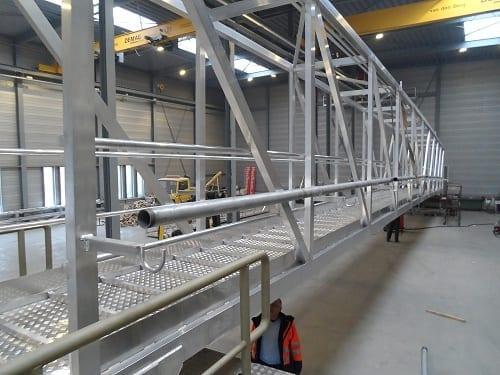 Bridges2000 oplossingen gangways gangway met bordes