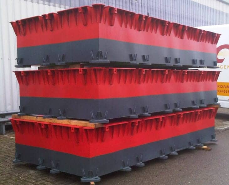 Bridges2000 oplossingen Pontons losse ponton onderdelen