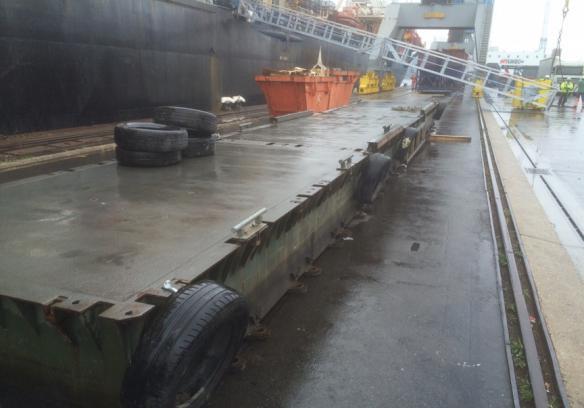 Bridges2000 oplossingen Pontons Ponton tussen schip en kade